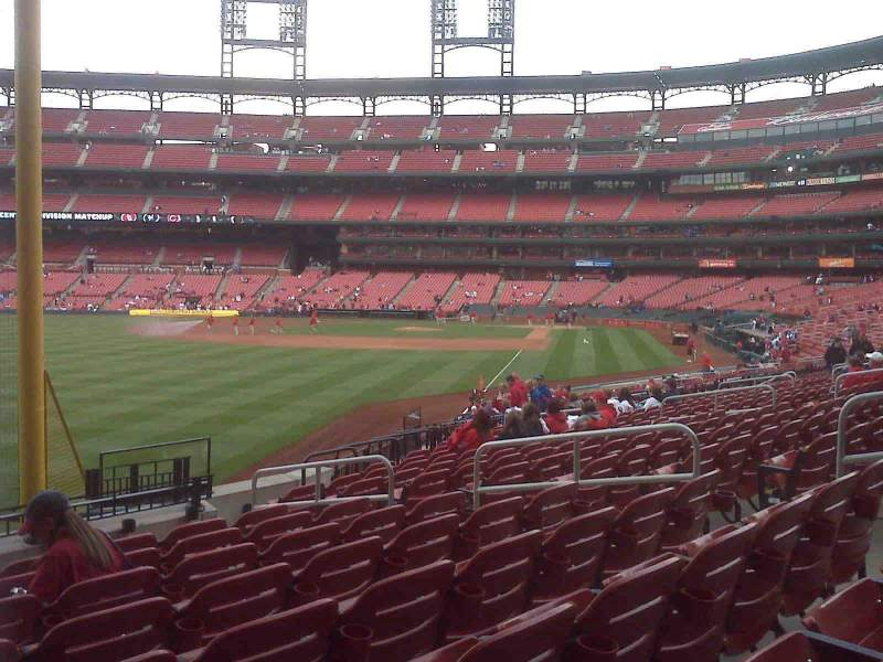 Seating view for Busch Stadium Section 169 Row 15 Seat 10
