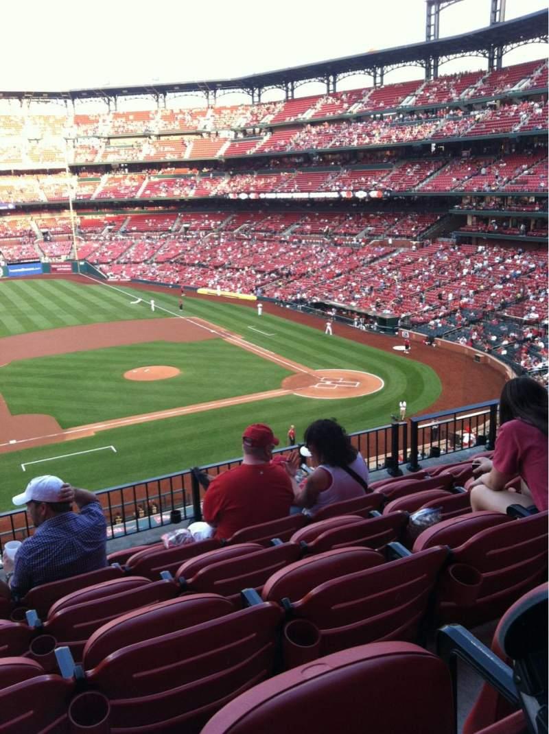 Busch Stadium Section 257 Home Of St Louis Cardinals