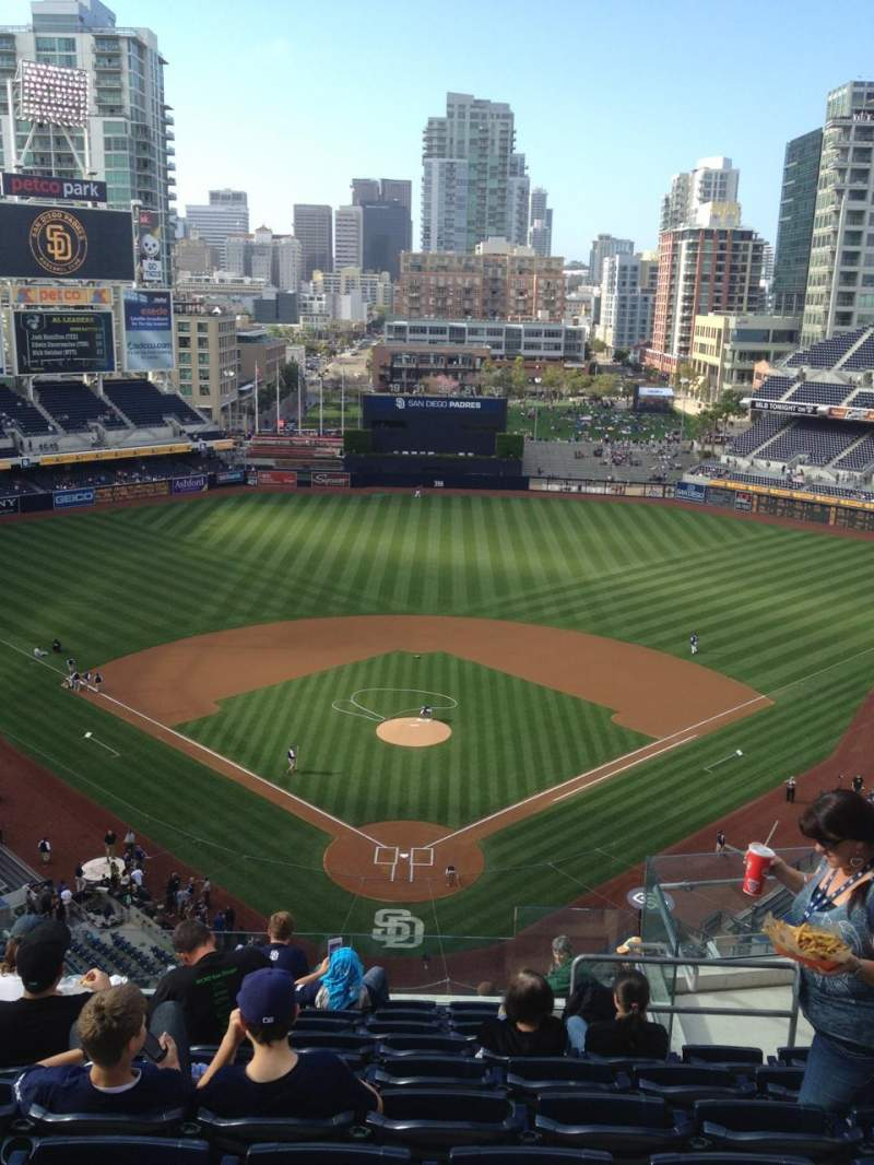 Seating view for PETCO Park Section 300 Row 16 Seat 6
