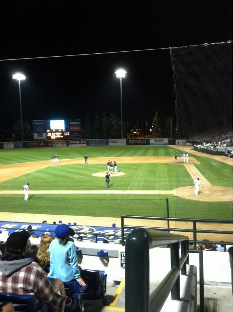 LoanMart Field, section: Club Box 6, row: 6, seat: 1