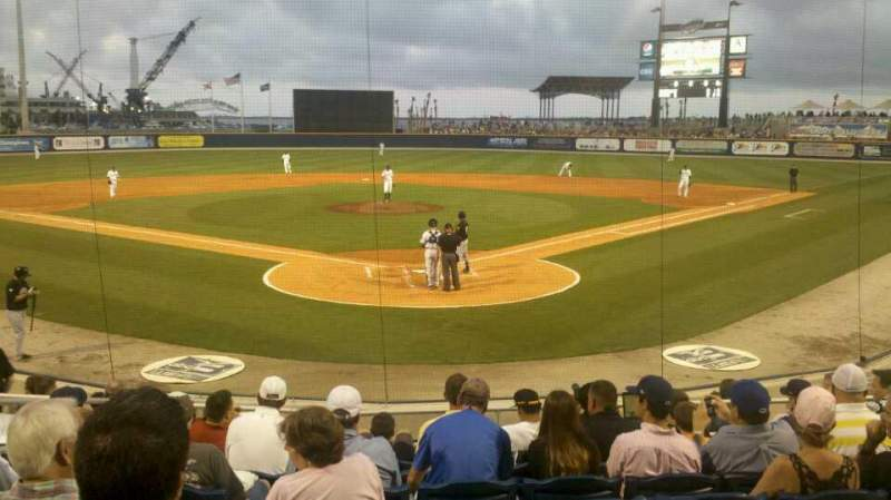 Seating view for Blue Wahoos Stadium Section 100 Row L Seat 15
