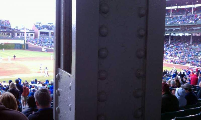 Seating view for Wrigley Field Section 209