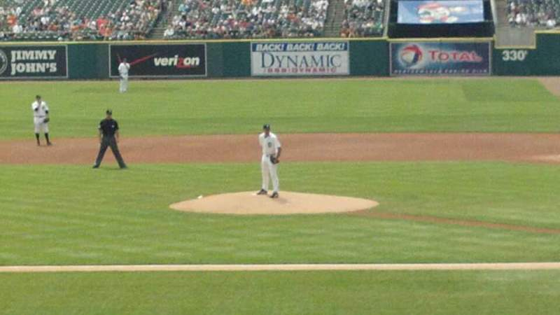 Seating view for Comerica Park Section 132 Row 32 Seat 11