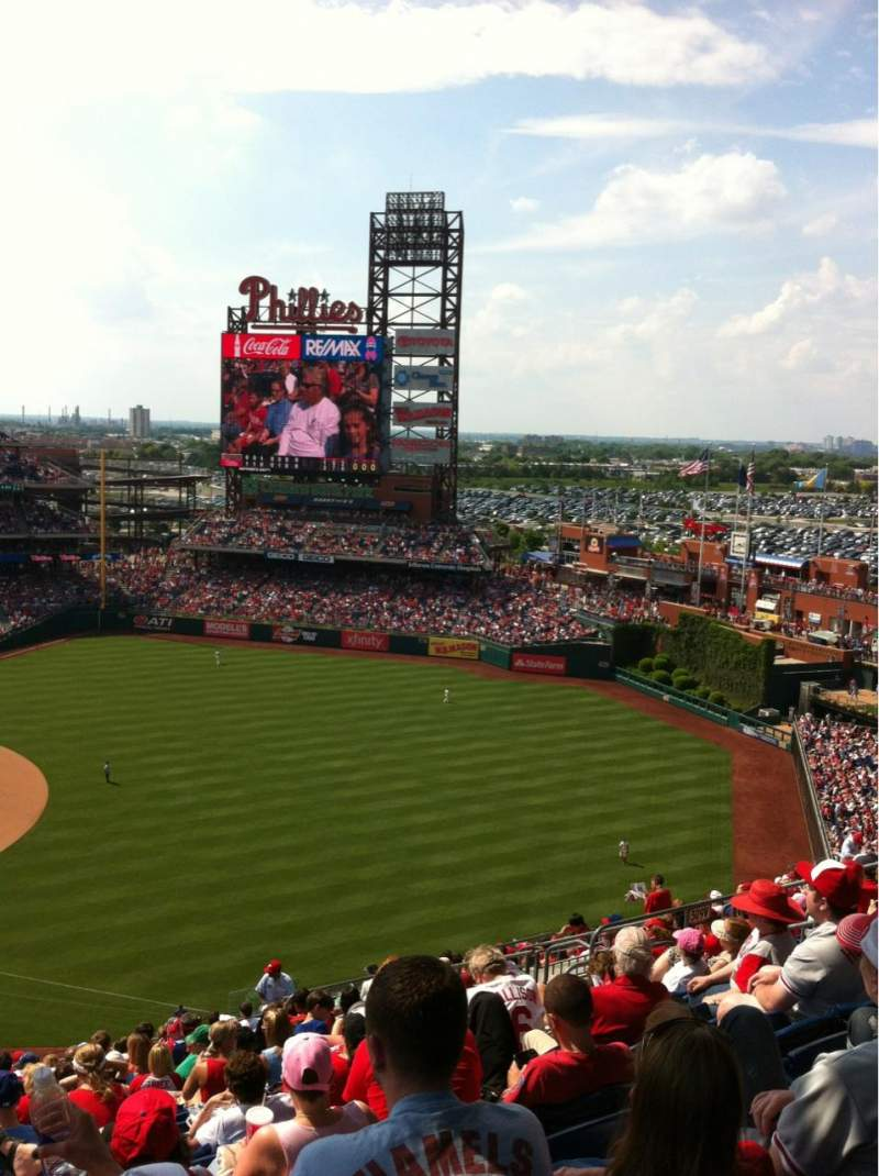 Seating view for Citizens Bank Park Section 310 Row 20 Seat 15