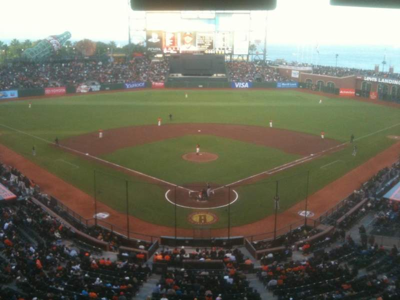 Seating view for AT&T Park Section Suite 27
