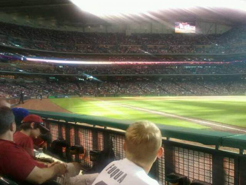 Seating view for Minute Maid Park Section 132 Row 2 Seat 10