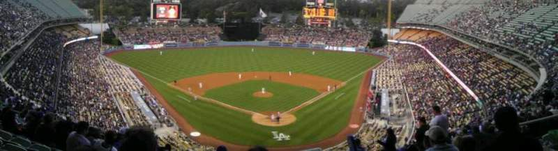Seating view for Dodger Stadium Section 3RS Row S Seat 8