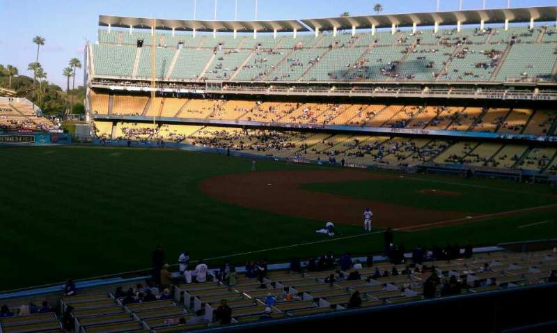 Seating view for Dodger Stadium Section 153LG Row D Seat 3