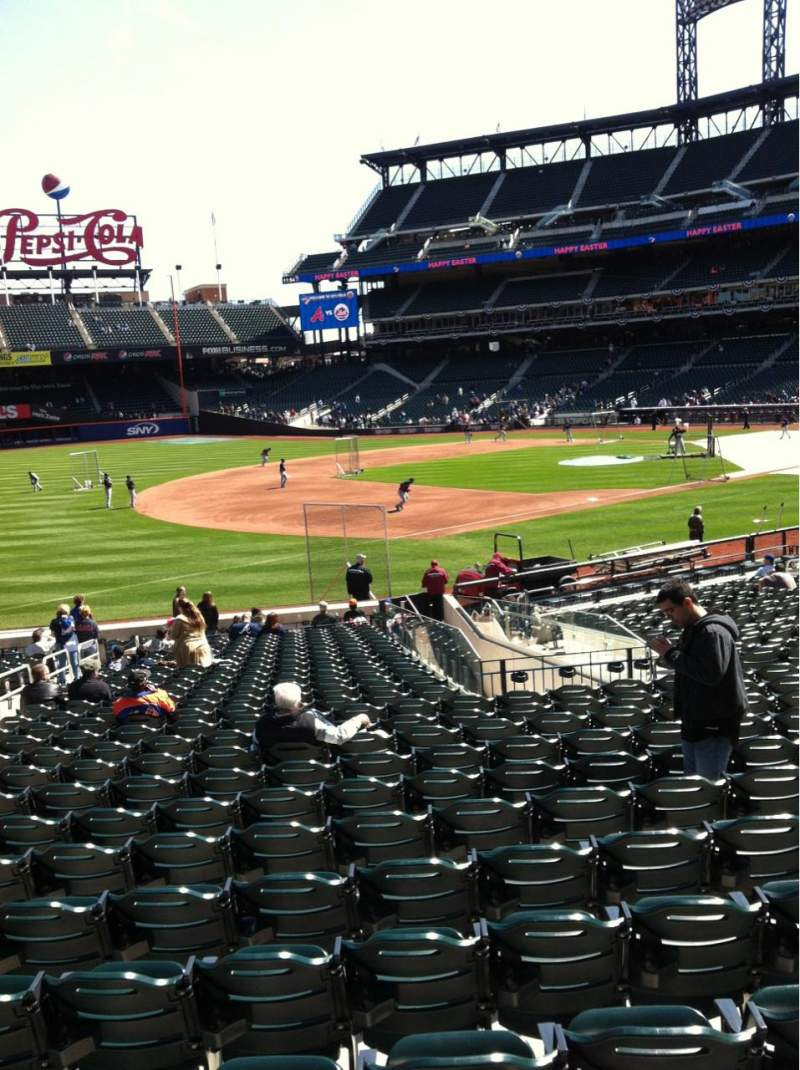 Seating view for Citi Field Section 125 Row 23