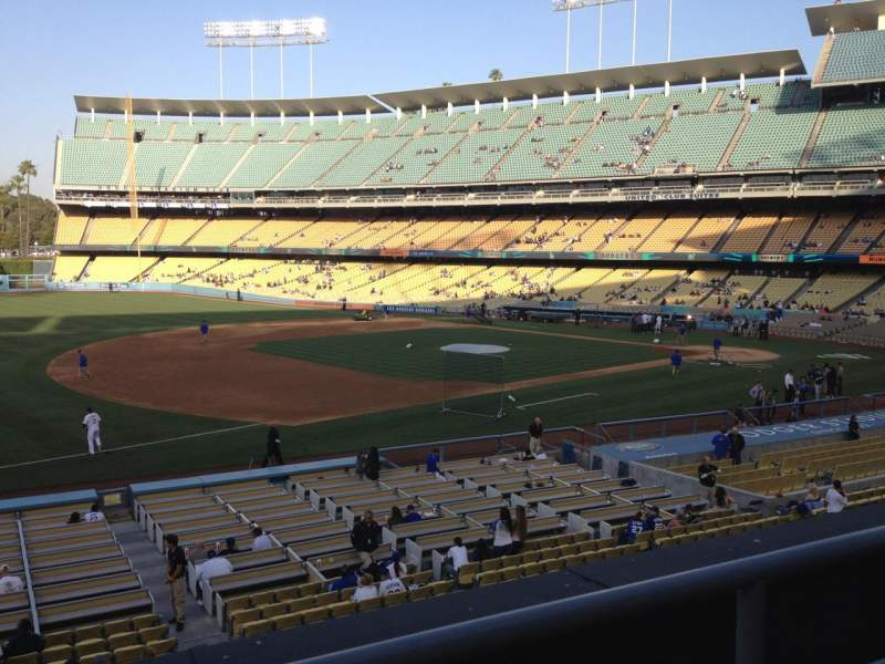 Seating view for Dodger Stadium Section 145LG Row B Seat 3