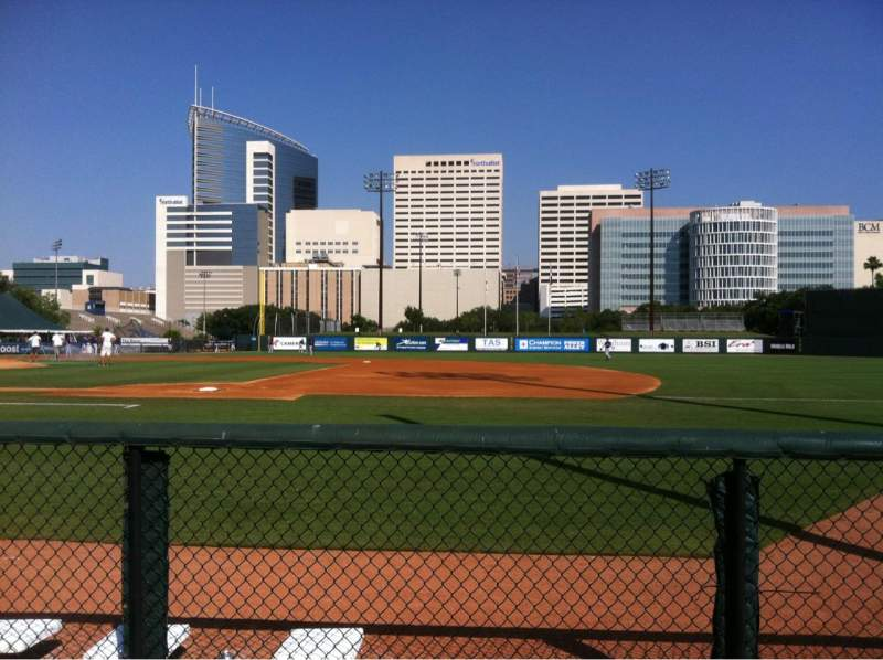 Reckling Park, section: A, row: 4, seat: 7