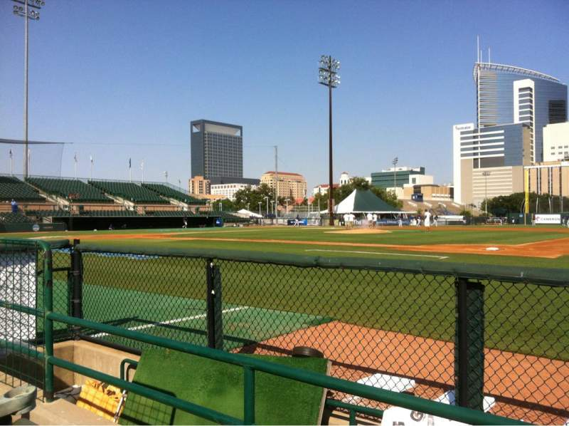 Seating view for Reckling Park Section A Row 4 Seat 8