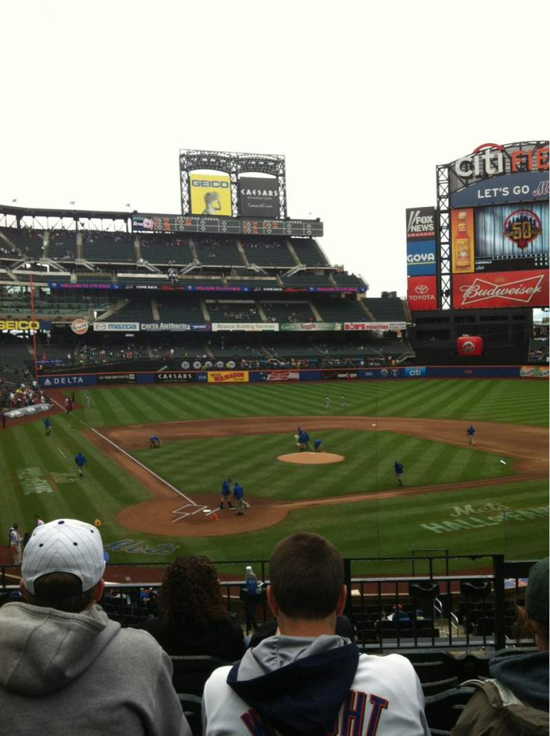 Seating view for Citi Field Section 117 Row 5