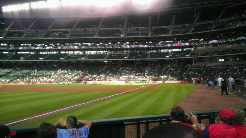 Seating view for Minute Maid Park Section 106 Row 5 Seat 8