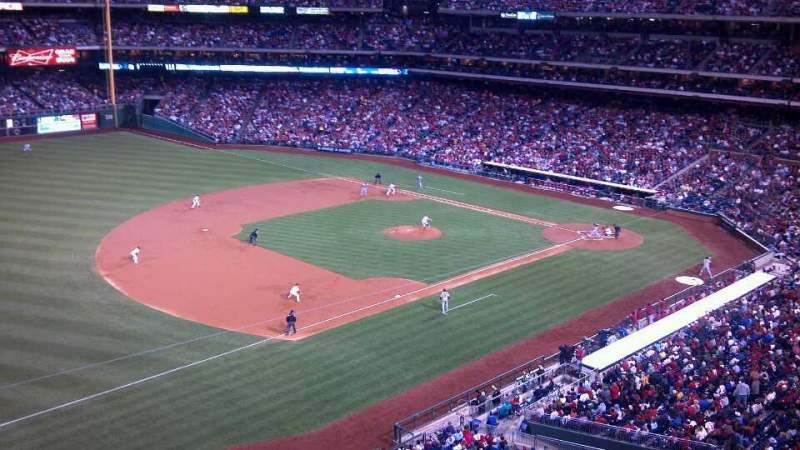 Seating view for Citizens Bank Park Section 330 Row 1 Seat 1