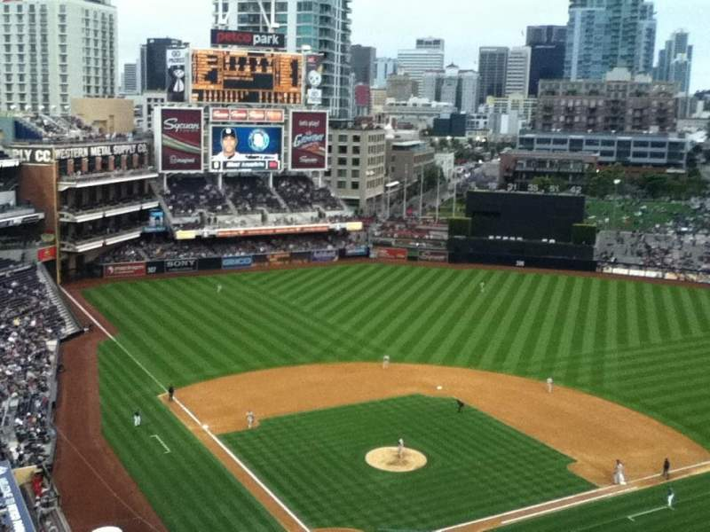 Seating view for Petco Park Section 301 Row 16 Seat 22
