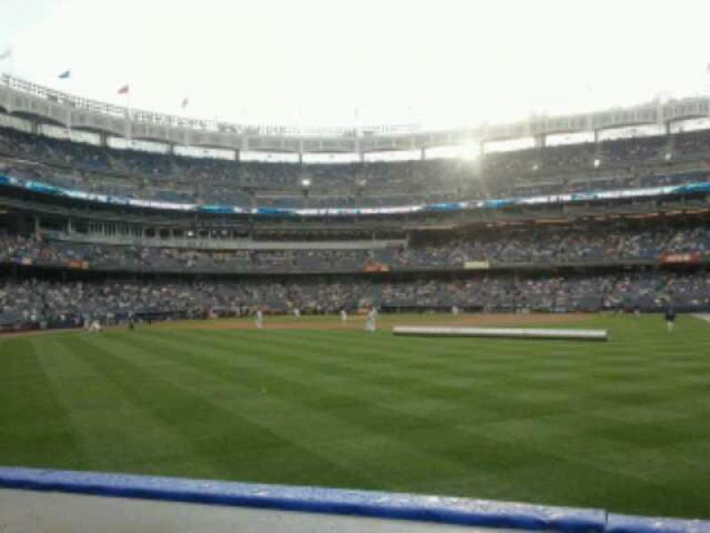 Seating view for Yankee Stadium Section 103 Row 10 Seat 21
