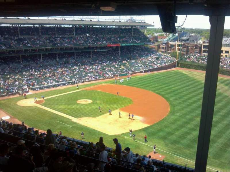 Seating view for Wrigley Field Section 536 Row 8 Seat 2