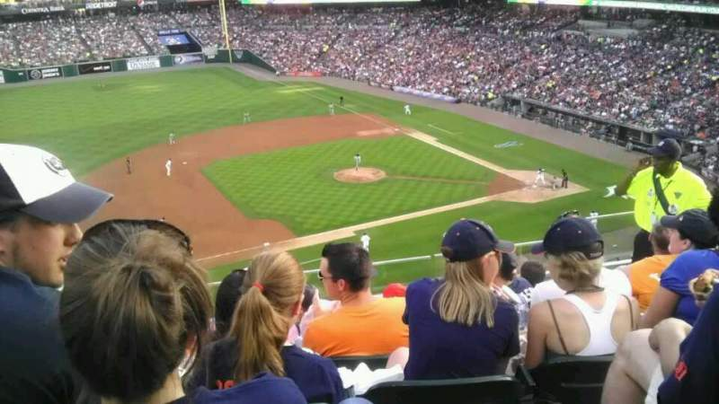 Seating view for Comerica Park Section 336 Row F Seat 5,6