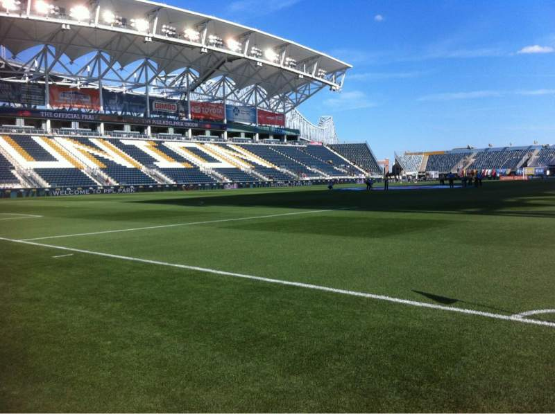 Seating view for Talen Energy Stadium Section Field