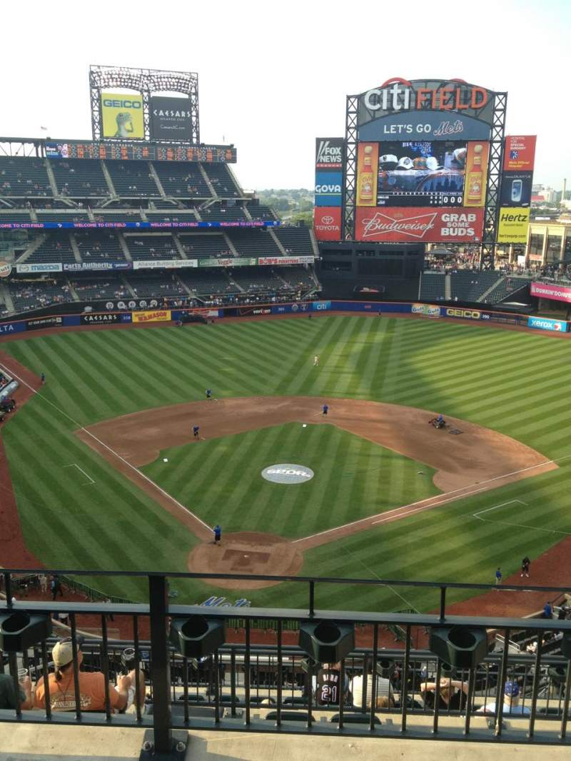 Seating view for Citi Field Section 513 Row 3 Seat 17