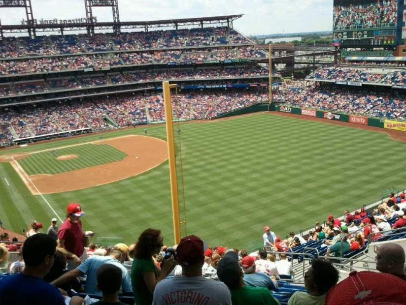 Seating view for Citizens Bank Park Section 306 Row 18 Seat 9