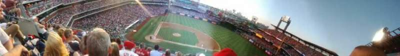 Seating view for Citizens Bank Park Section 316 Row 7 Seat 19