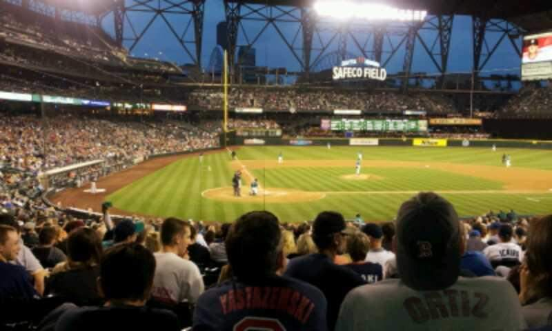 Seating view for Safeco Field Section 126 Row 29 Seat 5