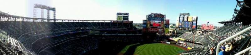 Seating view for Citi Field Section 510 Row 13 Seat 20