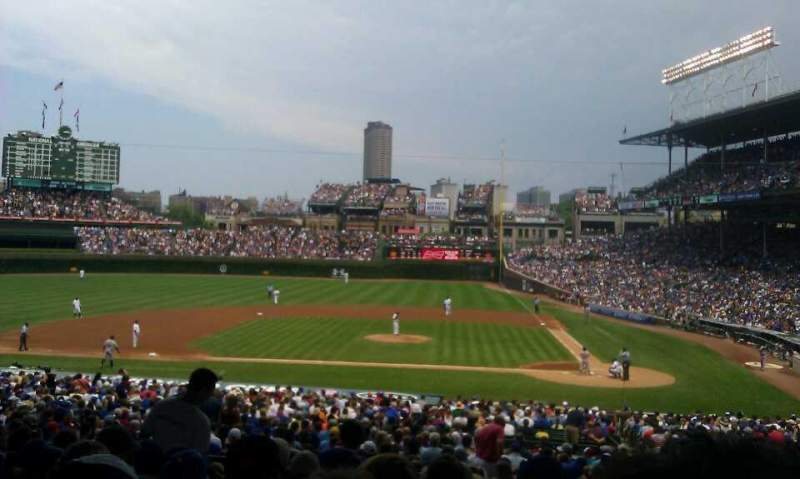 Seating view for Wrigley Field Section 216 Row 9 Seat 112