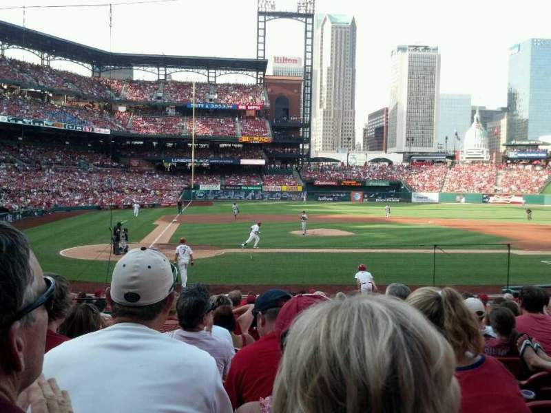 Seating view for Busch Stadium Section 146 Row 10 Seat 4