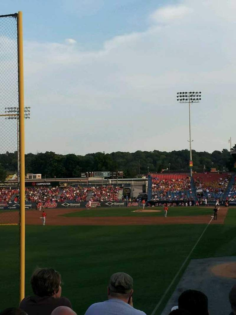 Seating view for FirstEnergy Stadium (Reading)