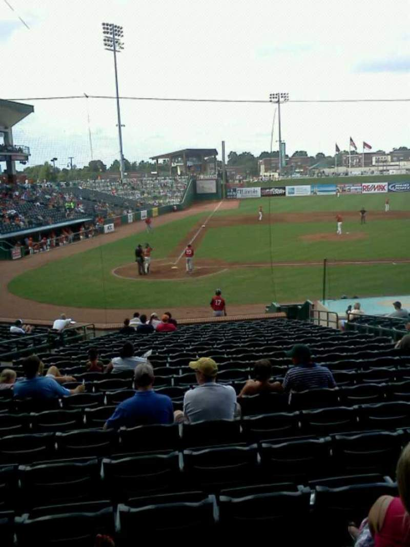 Seating view for First National Bank Field Section 110 Row w Seat 10