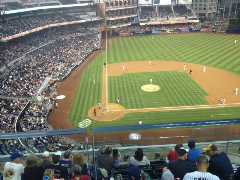 Seating view for Petco Park Section 307 Row 7 Seat 11