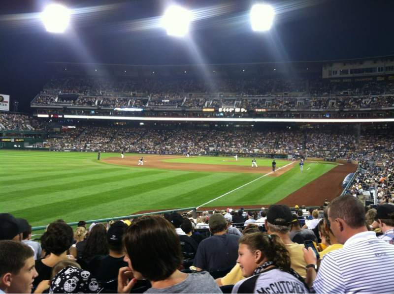 Seating view for PNC Park Section 131 Row L  Seat 20