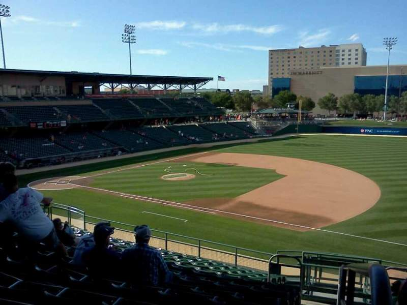 Seating view for Victory Field Section 217 Row P Seat 1