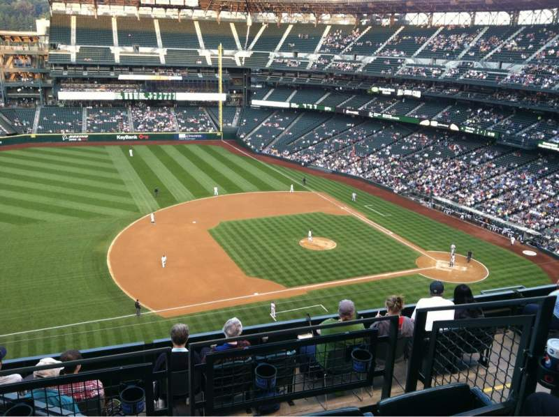 Seating view for Safeco Field Section 340 Row 11 Seat 19