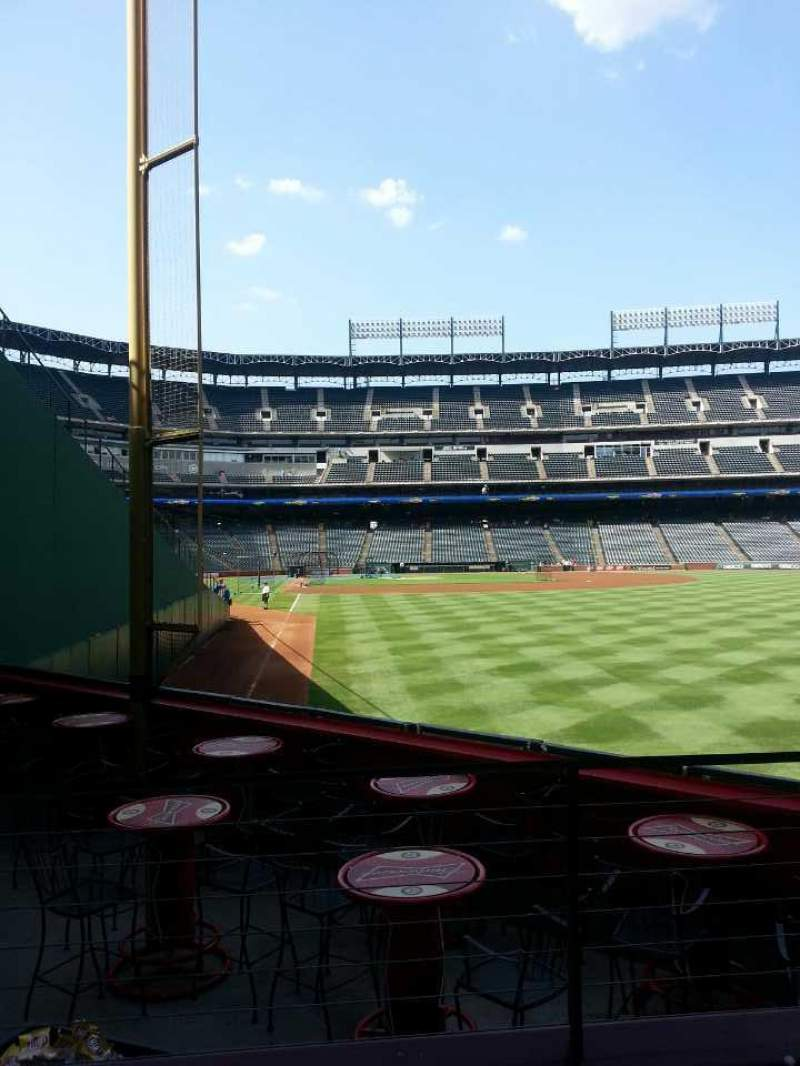 Seating view for Globe Life Park in Arlington Section 44 Row 3 Seat 5