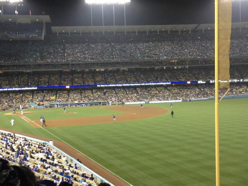 Seating view for Dodger Stadium Section 164LG Row K Seat 11