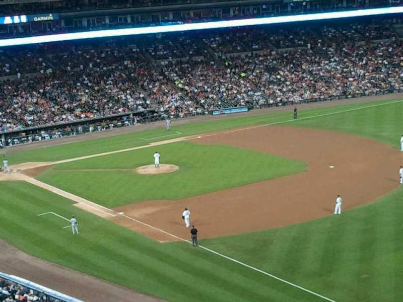 Seating view for Comerica Park Section 213 Row 11 Seat 5