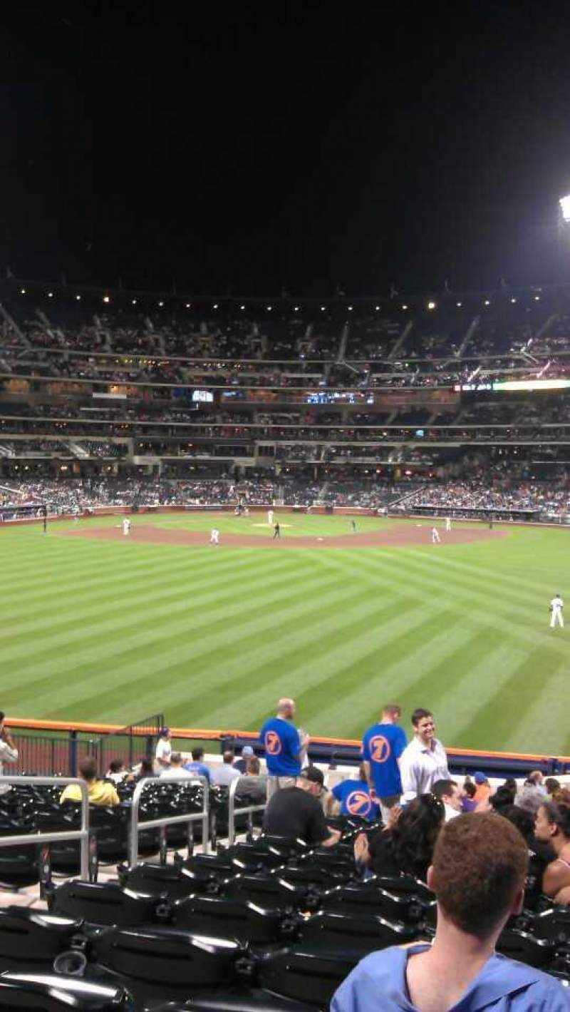 Seating view for Citi Field Section 141 Row 19 Seat 7