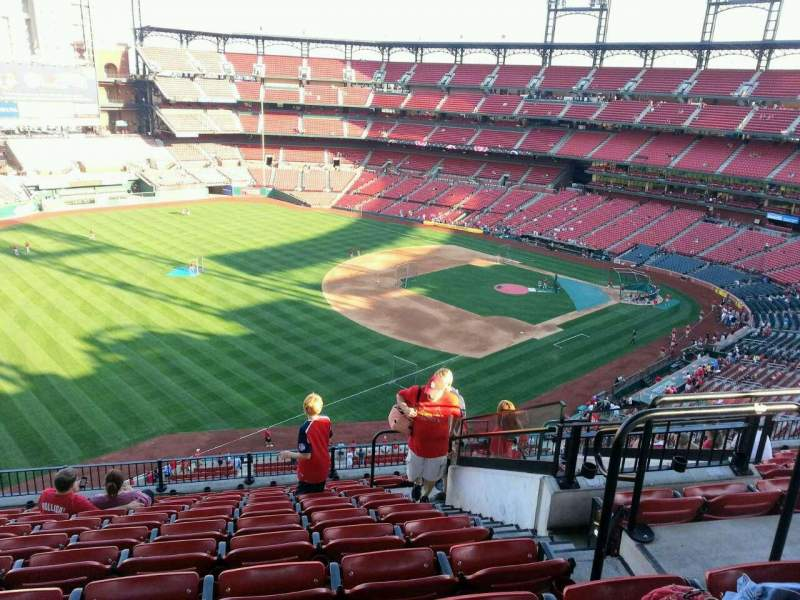 Seating view for Busch Stadium Section 365 Row 11 Seat 5