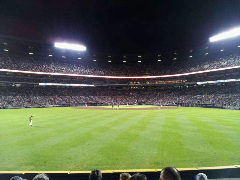 Seating view for Turner Field Section 148 Row 18 Seat 7