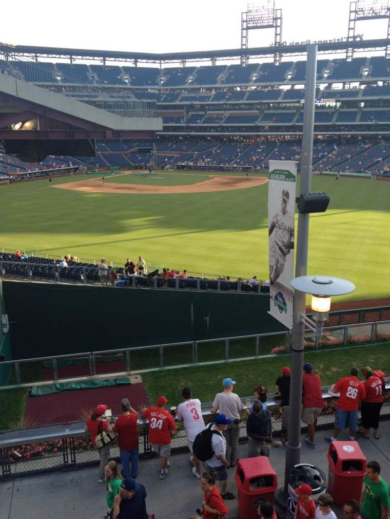Seating view for Citizens Bank Park Section Bud Light Bleachers Row 3 Seat 24