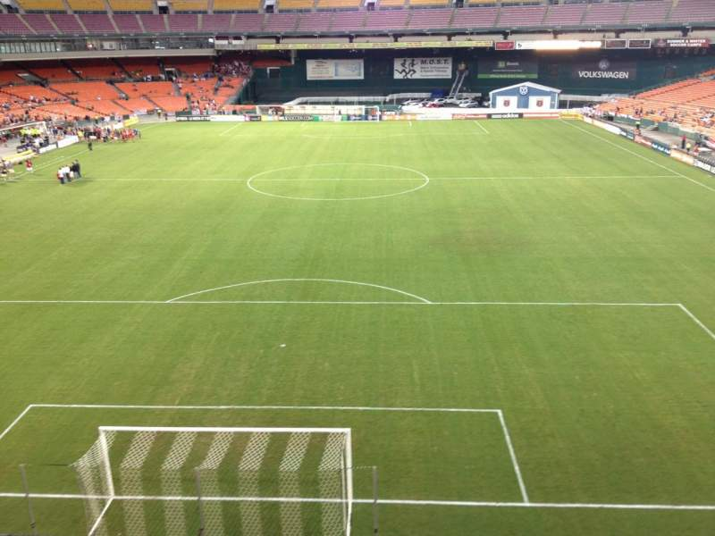 Seating view for RFK Stadium Section M46 Row 1 Seat 17