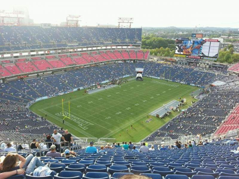 Seating view for Nissan Stadium Section 320 Row jj Seat 22