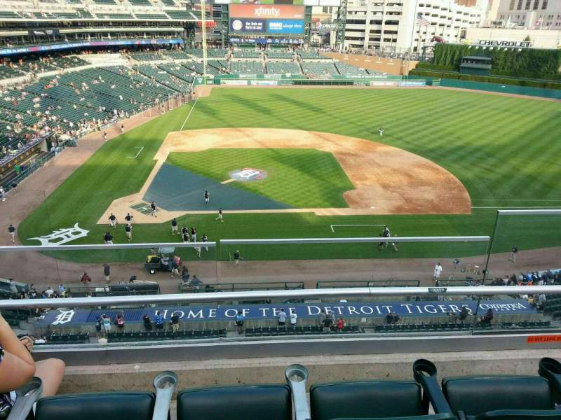 Seating view for Comerica Park Section 323 Row C Seat 3