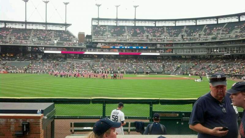 Seating view for Comerica Park Section 148 Row D Seat 12