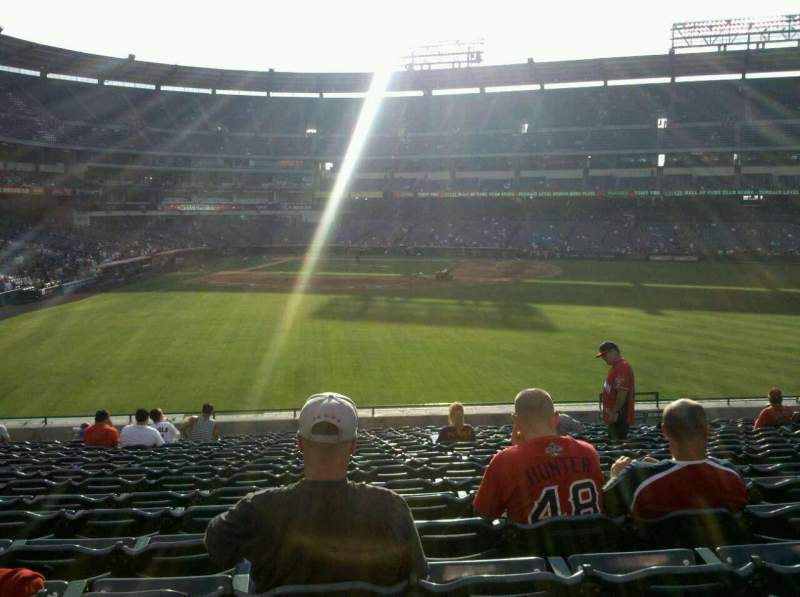 Seating view for Angel Stadium Section 237 Row U Seat 14