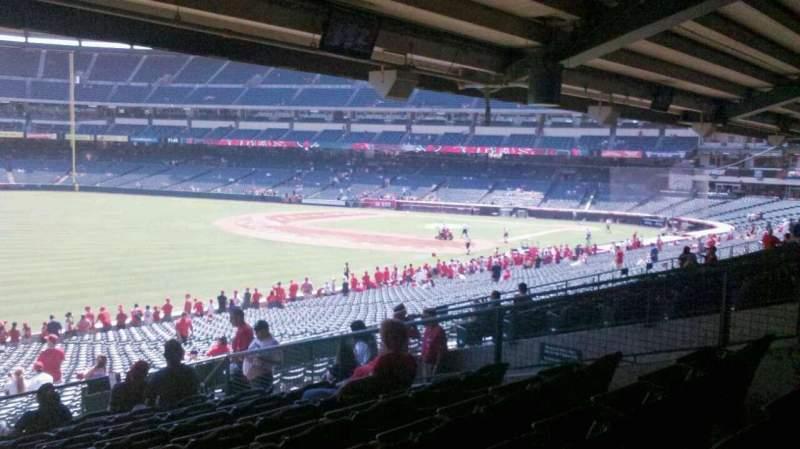 Angel Stadium, section: T205, row: K, seat: 14